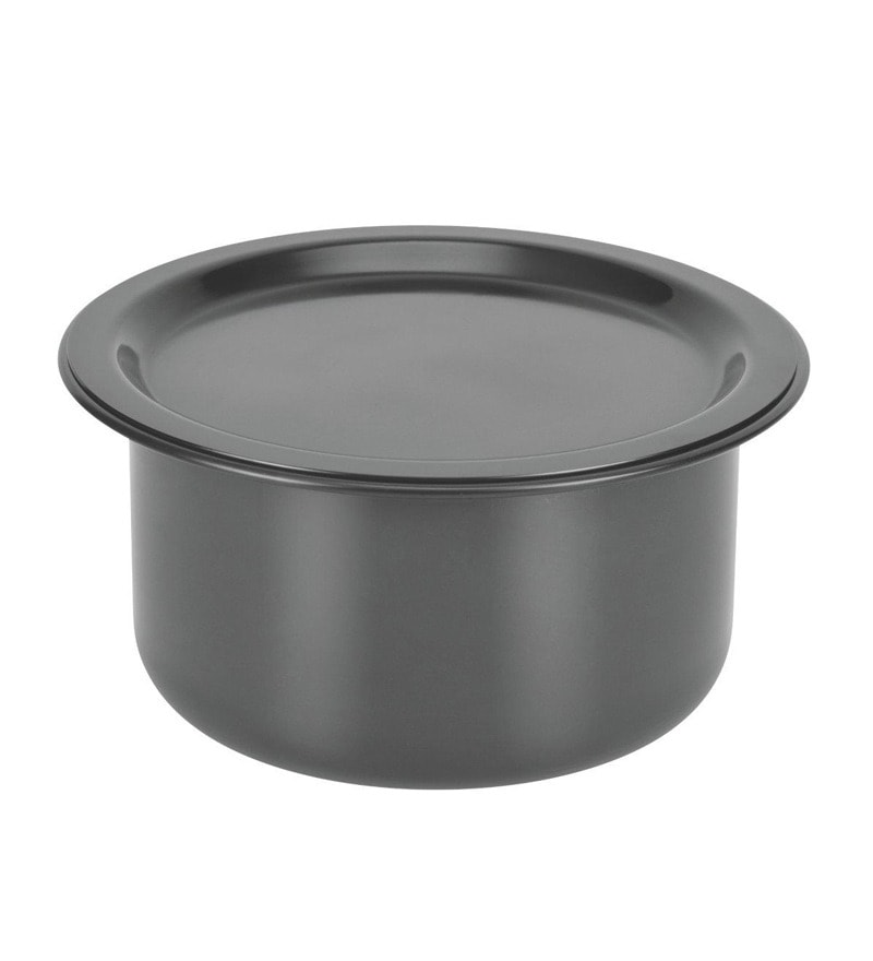 Patila Tope Container Induction Anodised Lid 1.8 Litres S20 by Kitchen Essentials