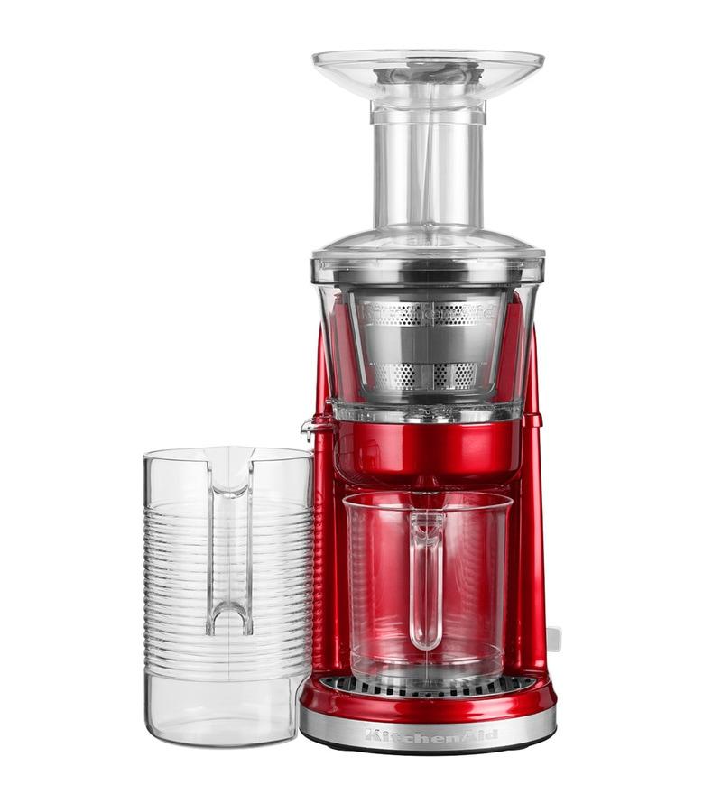 KitchenAid Maximum Extraction Juicer/Slow Juicer (Candy Apple) 5KVJ0111BCA