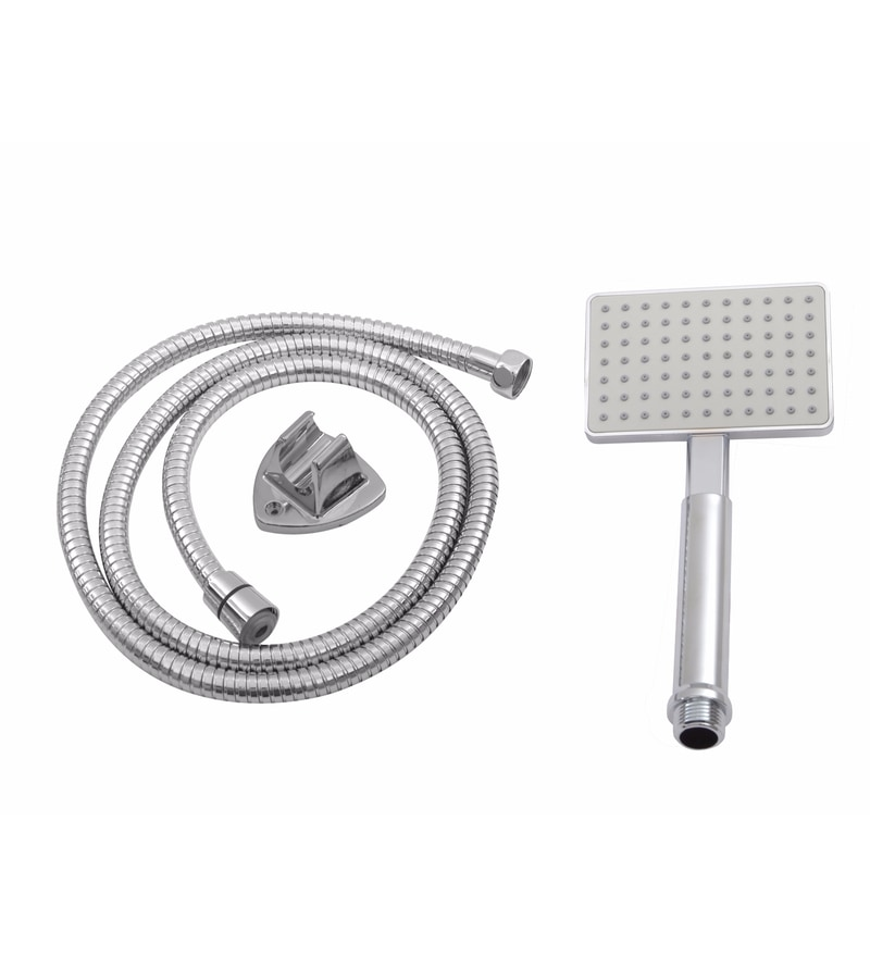 Klaxon Blaze Silver ABS Telephonic Shower Set
