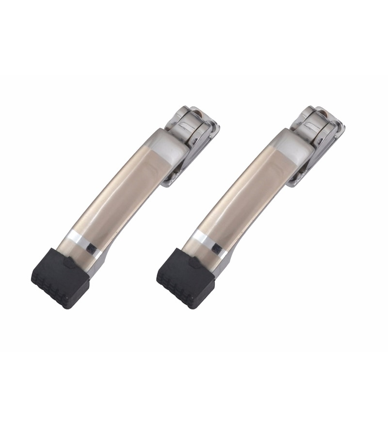 Klaxon Brass Door Stoppers - Set of 2
