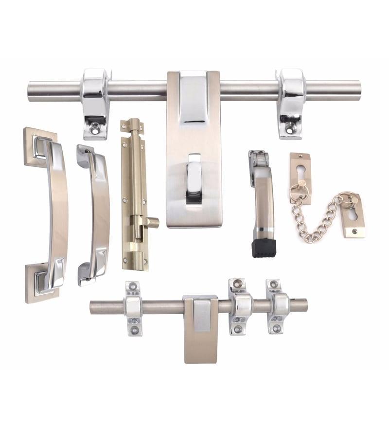 Klaxon Noble Brass Door Accessories Kit