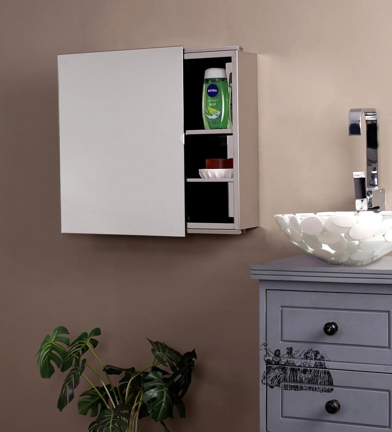 Buy Cipla Plast Ivory Plastic Bathroom Cabinet Online Bathroom Cabinets Bed Bath Pepperfry