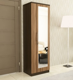 Single Door Wardrobe: Buy Single Door Wardrobe with Mirrors in