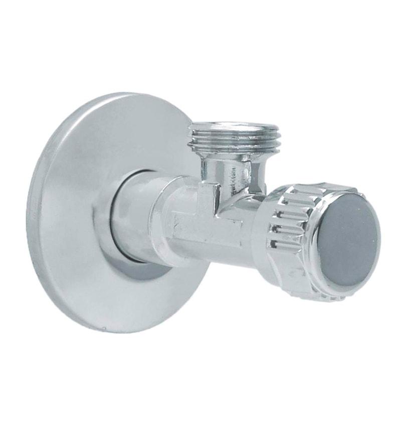 Kohler Silver Stainless Steel Angle Stop Valve