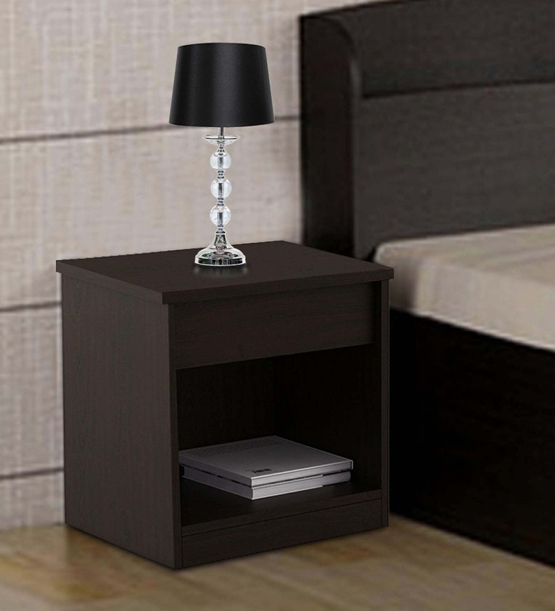Kosmo Weave Bedside Table in Vermount Finish by Spacewood
