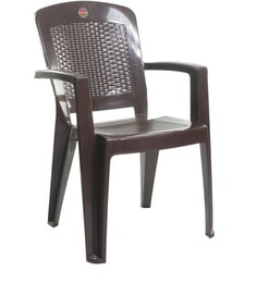 Laurel Chair Set Of Two In Brown Colour