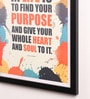 Paper & PU Frame 13 x 0.7 x 17.5 Inch Framed Poster by Lab No.4 - The Quotography Department
