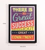 Lab No.4 - The Quotography Department Paper & PU Frame 13 x 0.7 x 17.5 Inch Quotes Framed Poster