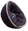 Organic Pouffe in Multicolour by Reme