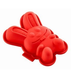 Lekue Red Silicone Mini Rabbit Cake
