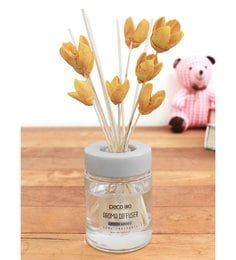 Lemon Grass With Bakuli Flower In Reed Sticks Diffuser