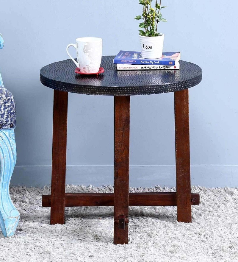 Lester Small End Table by Bohemiana