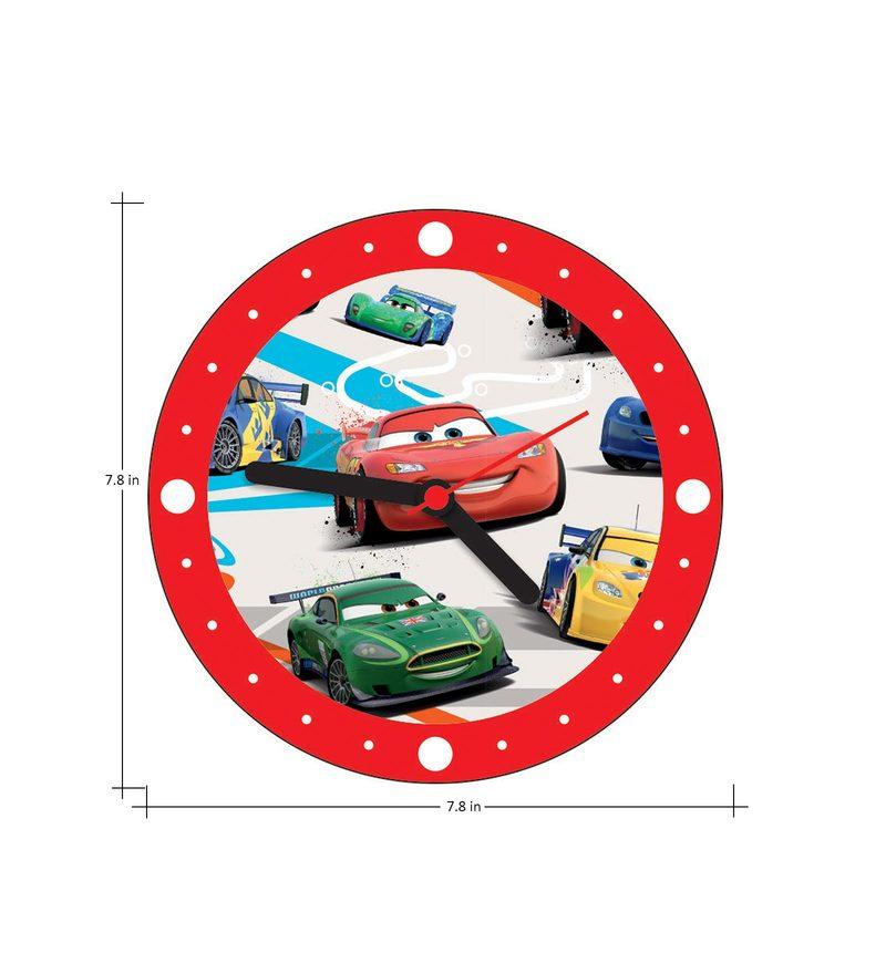 Buy Licensed Cars Digital Printed Analog Wall Clock By Orka Online