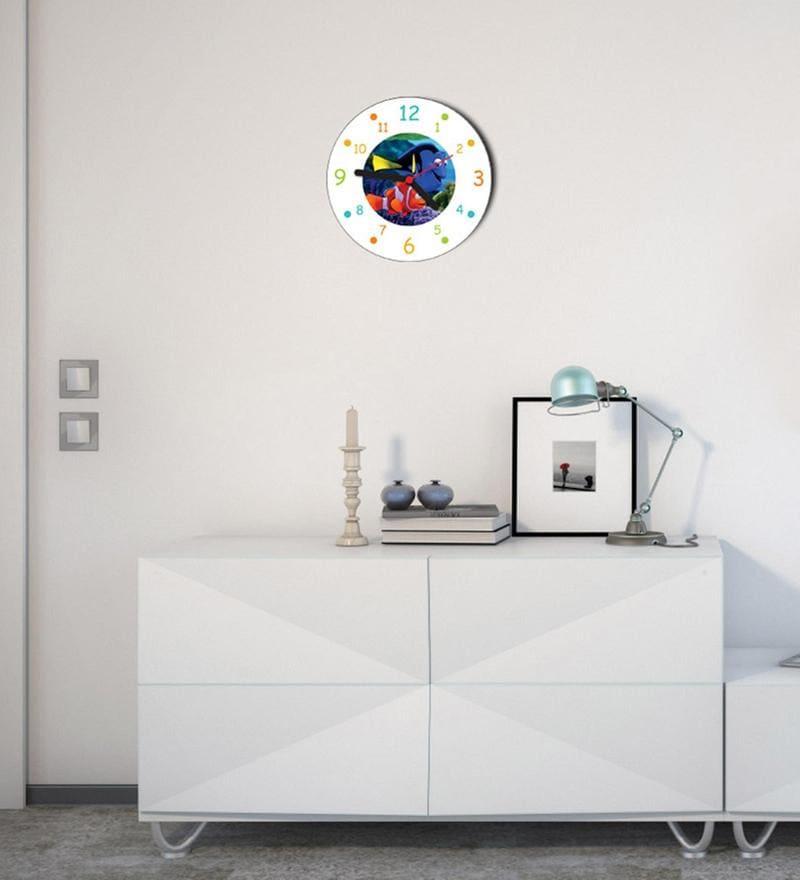 Licensed Finding Nemo Digital Printed Analog Wall Clock by Orka