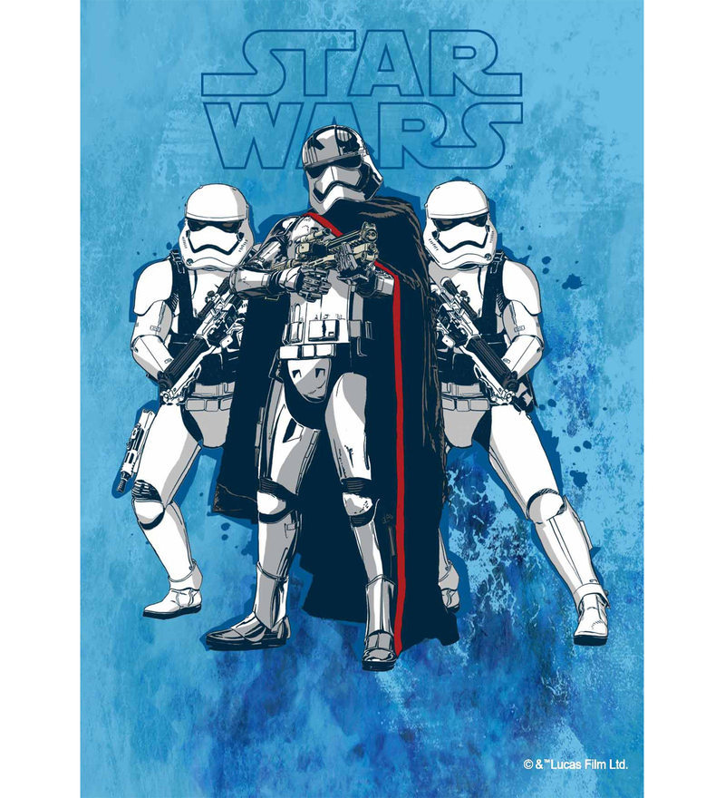Licensed Starwars Team Storm Trooper Digital Printed with Laminated Wall Poster by Orka
