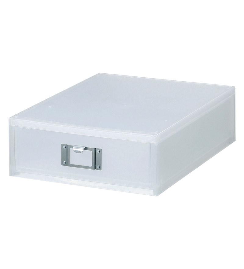 Like-It Polypropylene Office Desk Top File Drawer