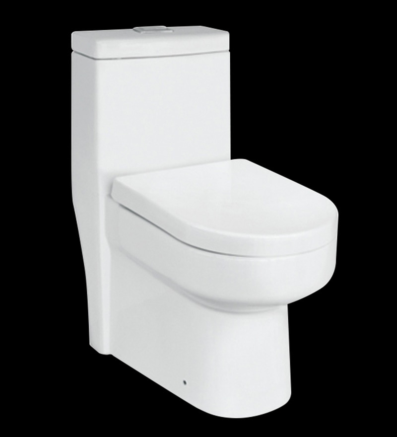 Liquid White Ceramic S Trap Water Closet