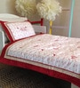 Li'l Miss Red Baby Quilt Set by Raw Kottage