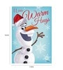 Licensed Frozen Olaf Digital Printed with Laminated Wall Poster by Orka