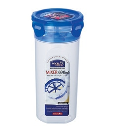 Lock&Lock Transparent 690 Ml Storage Container-Set Of 2