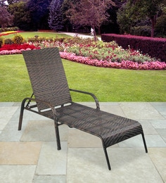 Lounge Chair In High Quality Wicker