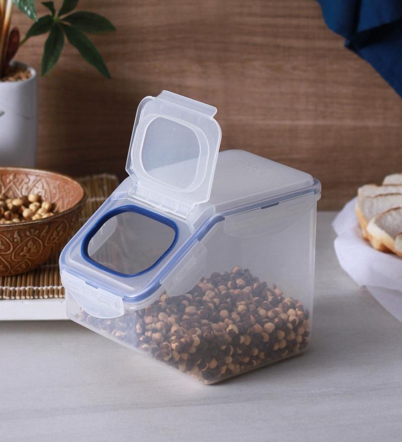 Lock&Lock Transparent Plastic 2.5 L Kitchen Caddy