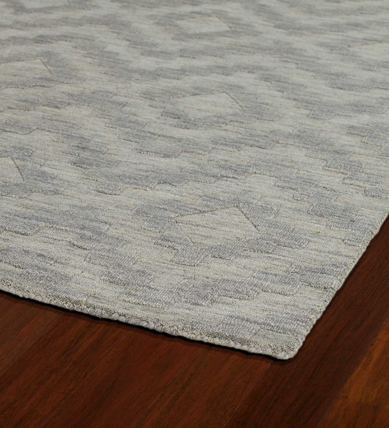 Loom Works Oatmeal Wool Handmade Carpet