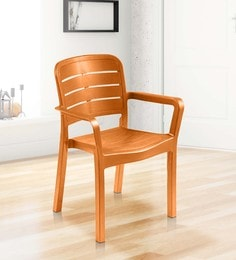 Luxury Chair In Orange Colour - 1622010