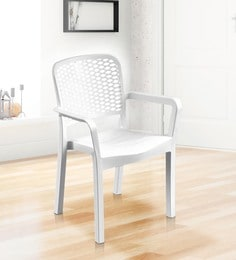 Luxury Chair In White Colour - 1622016
