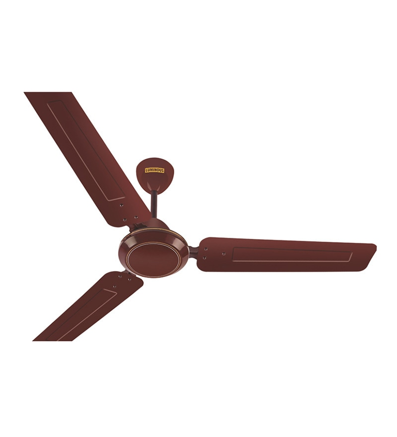 Luminous Josh Ceiling Brown Fan