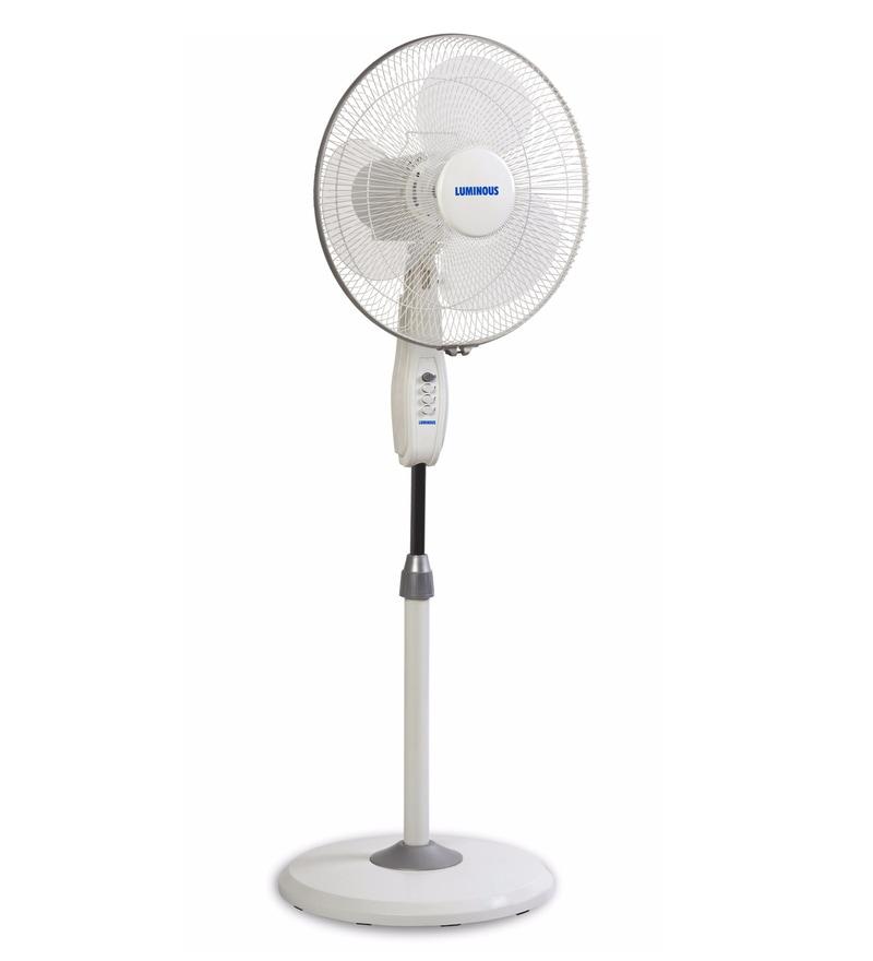 Luminous Mojo Plus Cream 400 mm Pedestal Fan