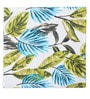 Lushomes Forest Printed Green Cotton Dinner Napkins - Set of 6