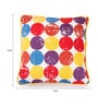 Multicolour Cotton 16 x 16 Inch Titac Printed Cushion Covers with Co-Ordinating Cord Piping - Set of 2 by Lushomes
