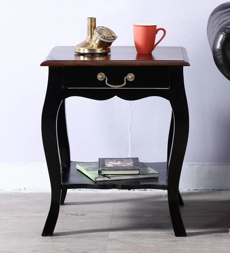 Margaret End Table in Dual Tone Finish by Amberville