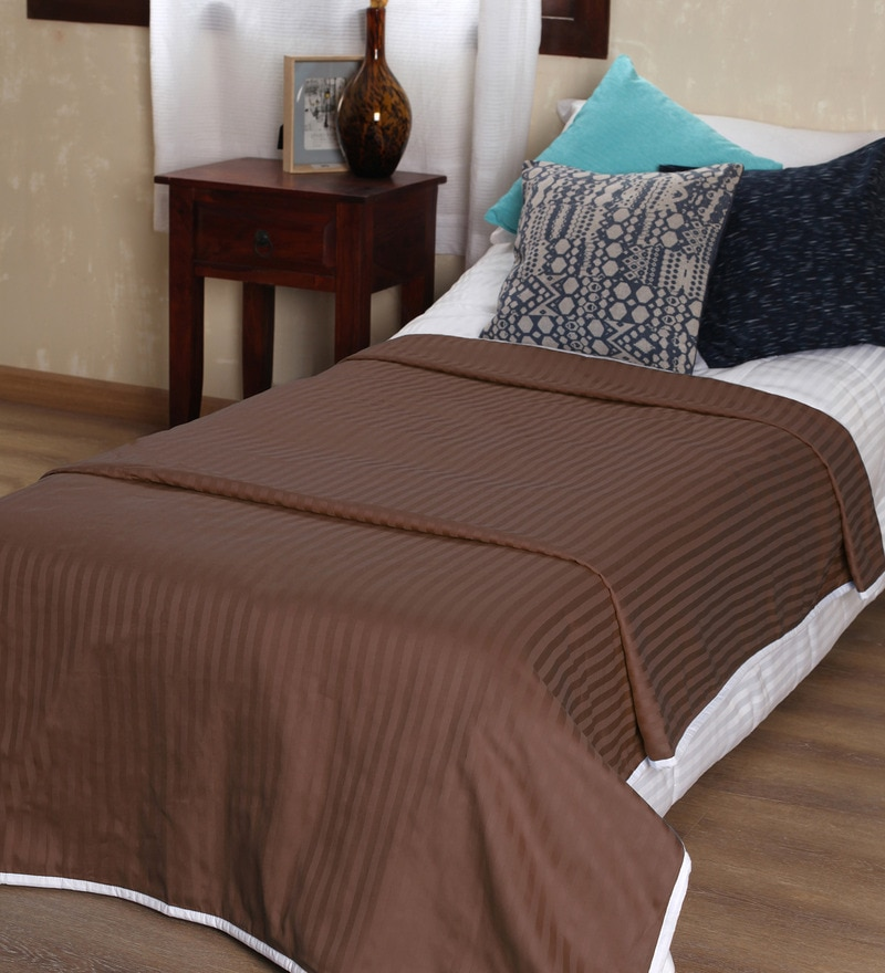 MGreenCotton Solid 100 x 90 Inch Double Bed Dohar by Mark Home