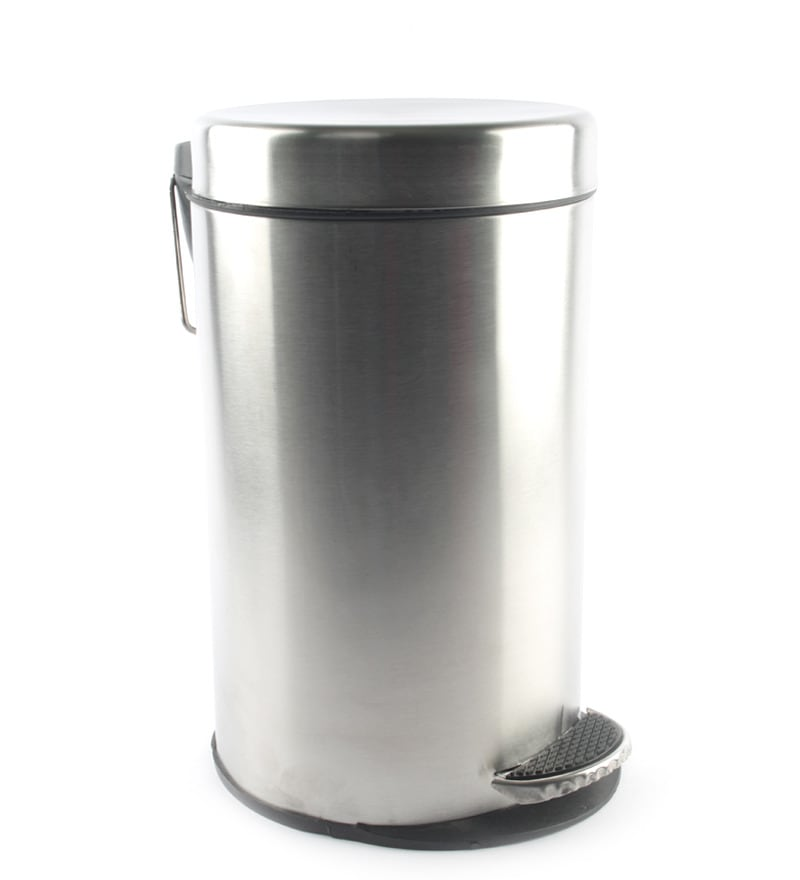 Gesign 5 L Foot Operated Dustbin with Plastic Bucket