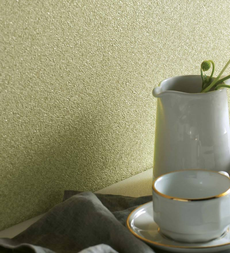 Green Paper Backing Wallpaper by Marshalls WallCoverings