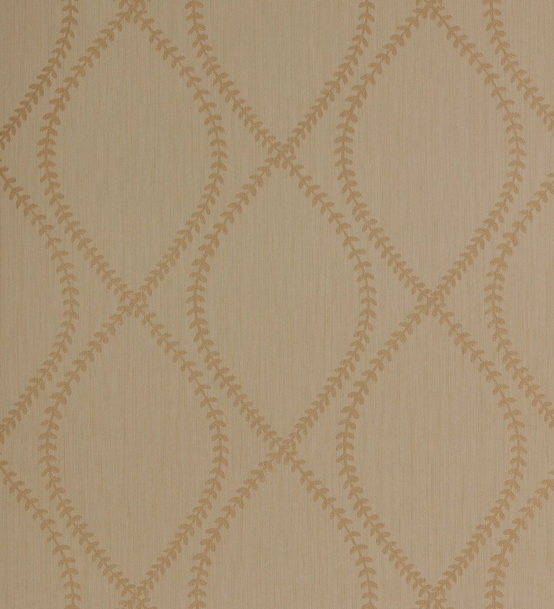 Brown Non Woven Fabric Moisture-Resistant Wallpaper by Marshalls WallCoverings