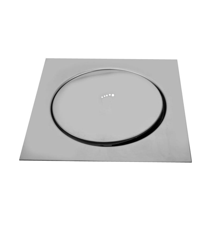 Maxel Chrome Stainless Steel Pop Up Floor Drain