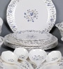 Miracle Flower Melamine Dinner Set - Set of 35 by Machi
