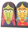 Mad(e) in India Multicolour MDF Puppet Key Holder