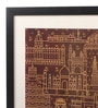 Mad(e) in India Paper & Glass 18 x 0.5 x 18 Inch Indian Monuments Framed Digital Art Print
