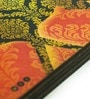 Mad(e) in India Camel Black & Gold MDF 3.5x3.5 INCH Coaster - Set of 4