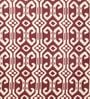 Marrakesh Flatweave Wool Area Rug Red by Riva