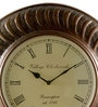 Multicolour Iron 16 Inch Round Wall Clock by Marwar Stores