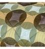 Green Fabric Queen Size Quilt by Maspar