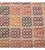 Red Fabric Single Size Quilt by Maspar