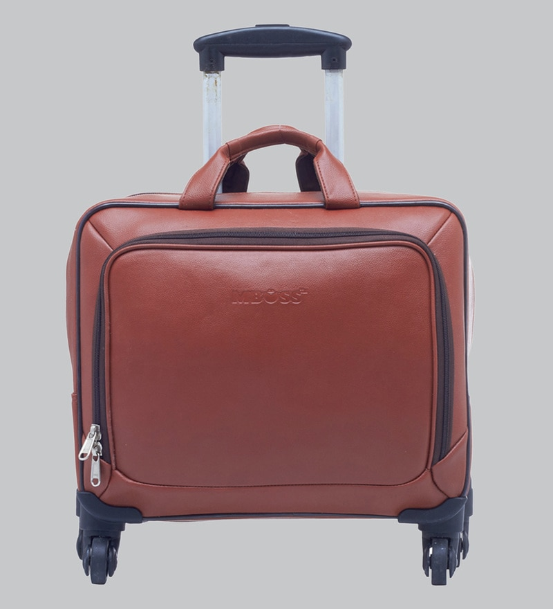 c79db08c35 Buy Leather World Designer Tan Leather Duffle Travel Bag