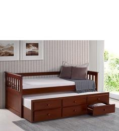 McCaptain Single Bed With Pull-Out Bed & Drawers