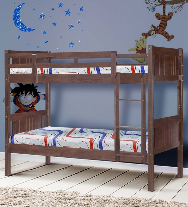 McHardy Bunk Bed in Cappuccino by Mollycoddle